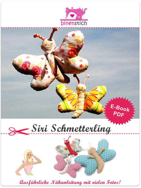Anleitung E-book Siri Schmetterling nähen