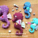 """Seepferdchen nähen: genäht von Danieal nach dem binenstich-Ebook """"Seetje Seepferdchen"""""""