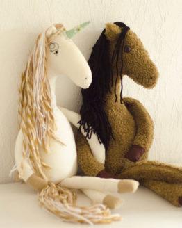 Einhorn Pferd nähen Näh-Anleitung