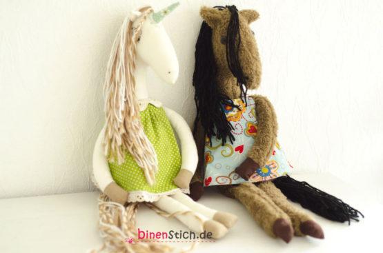 Eriella Einhorn und Ella Pferd Anleitung